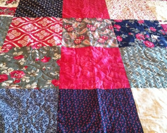 Black Christmas queen/king quilt
