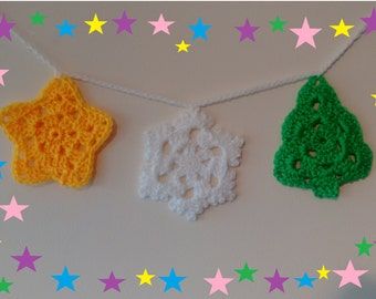 Crochet Christmas Tree Ornament pattern