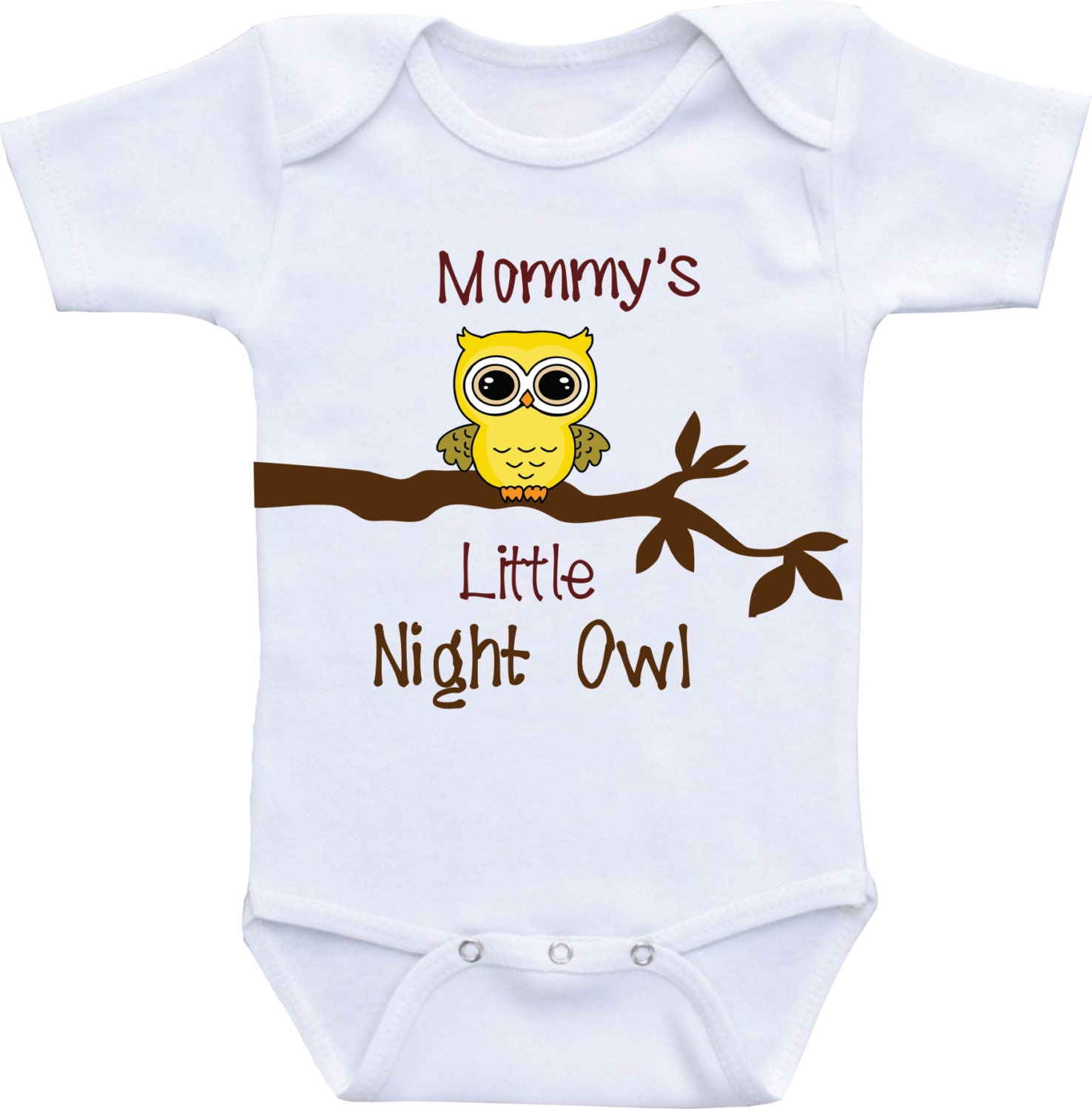 Baby shower t Funny Baby Clothes Mommy s Little Night