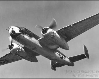 Poster, Many Sizes Available; B-25 Mitchell P1 - Copy