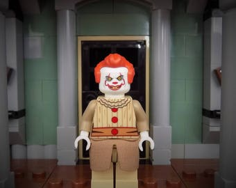 Pennywise  the clown from IT custom  minifigure made from Lego Parts