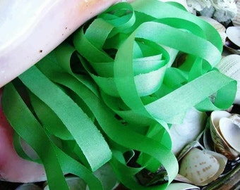 Vintage Seam Binding- Pale Green-Ribbon
