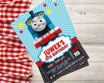Thomas The Train Invitation,Thomas The Train Birthday,Thomas The Train Birthday Party,Thomas The Train Printable-262