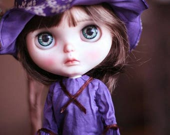 X Velvet Dolly Dress for Blythe