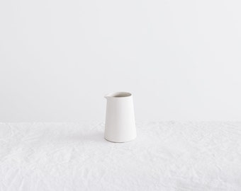 White clay creamer