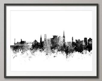Bournemouth Skyline, Bournemouth Dorset Cityscape Art Print (2948)
