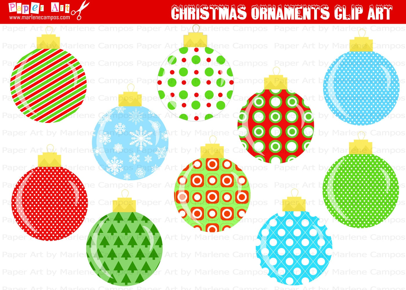 christmas decorations printables