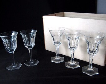 Moser Crystal Stemware 60 Pc Set of 12 Wine Water Cordial Tumbler