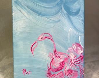 Silent Flamingo