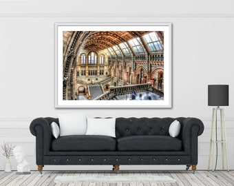 Natural History Museum. London Download high quality print A3+ size.