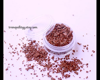 Faux Chocolate  , Polymer Clay Chocolate Crumbs, 5 Grams ,Decoden Chocolate , Cell Phone, Chocolate, Cookies, Cakes, By: Tranquilityy
