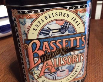 Vintage Bassett's Liquorice Allsorts