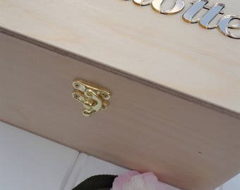 Jewellery Box / Childrens Box / Trinket Box / Keepsake Box / Treasure Box