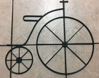 Antique Bicycle Wall Decor