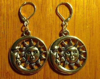 Moon and Sun Earrings