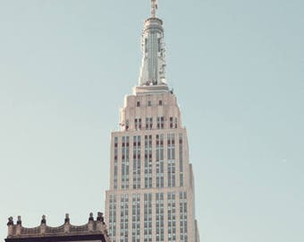 New York photography, canvas art, large wall art, New York print, New York prints, New York City, NYC, New York canvas art Empire State