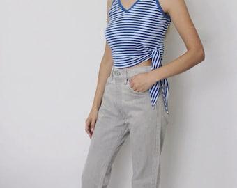 Vintage Levi's 505 Denim Jeans 26   Levis 505 High Waist Denim Jeans   Grey Denim Jeans   Levis High Waist Jeans