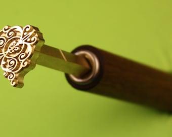 Bookbinding  gilding printing finishing hand tool  ht1c  (25mm x20mm)