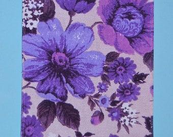 Retro floral runner