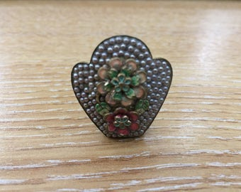 ANTIQUE CLIP BROOCH