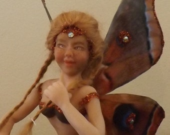 Fairy with moth wings