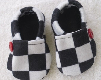 Baby shoes Racing Fabric