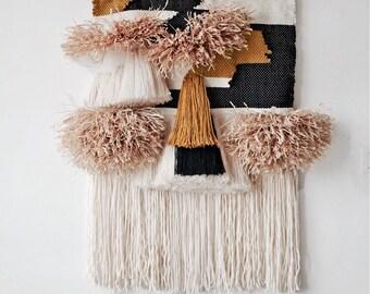woven wallhanging, homedesign, bohemian homedecor, boho, textile design
