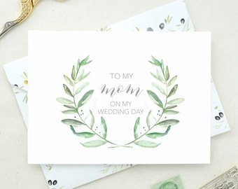 Wedding Cards from Bride. Father of the Bride. Mom Wedding Day Card. From the Bride and Groom. From the Bride Card. Mother Wedding Day. DO04