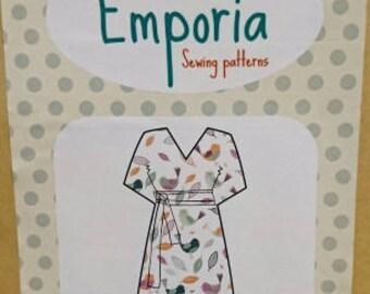 Kimono Dress Pattern S/M/L