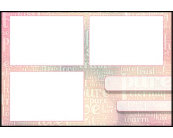 Photo Strip Template for Photo Booths | 4081