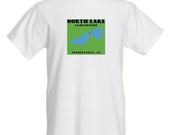 North Lake Campground (White Shirt)