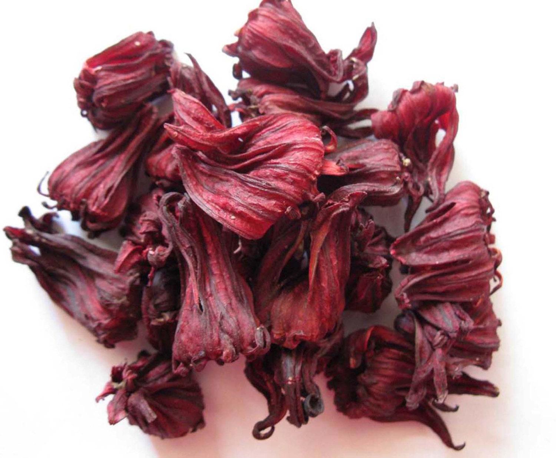 Dried organic hibiscusrosellesorrel flowers tea whole zoom izmirmasajfo