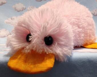 Minky Plush Duck Stuffed Toy