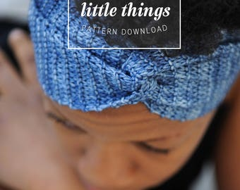 KNITTING PATTERN: Yoga Gifts, Headband, Yoga Headband, Headband Pattern, Headband PDF, Headband pdf pattern, Ear Warmer Pattern