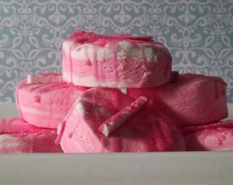 Grapefruit Twisted Mint - Bubble Bar. Pink Grapefruit, Sweet Peppermint and Tangerine Mandarin.