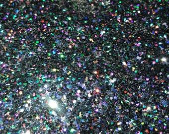New Year's Eve ,small black chunky,black Chunky holographic Glitter,black glitter, poly glitter,craft glitter,nail glitter