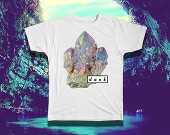 Dank Crystals - The Coolest Shirts on the Net - VAPORWAVE SHIRTS