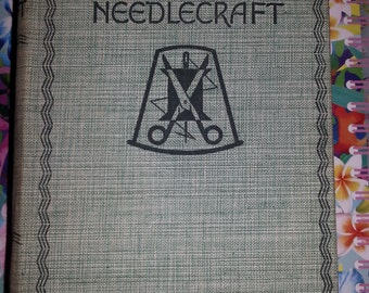 The Big Book of Needlecraft by Annie S. Paterson, published by Odham's 1935. Everything you need to know about needlecraft.
