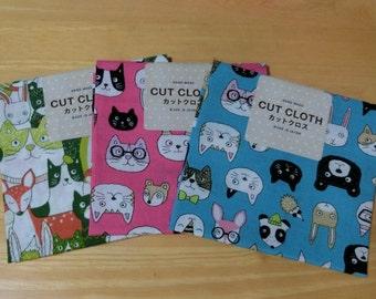 Japanese cotton fabrics (Animals)