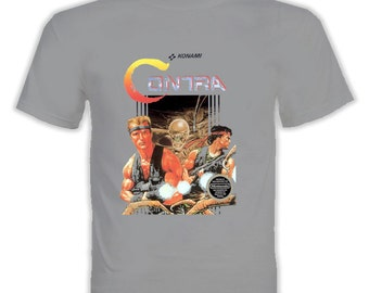 Contra Nes Video Game T Shirt
