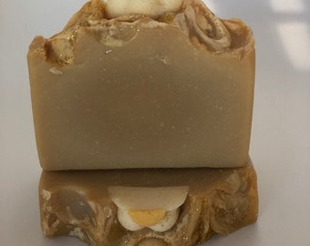HomeMade Almond Energy Artisan Soap,HandMade ,Cold Processed Soap,Gifts, Bath and Body,Bridal