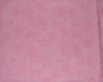 Pink with White Dots XL Receiving Blanket
