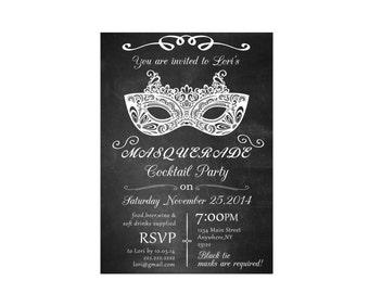 mardi gras invitation masquerade party invitation sweet 16
