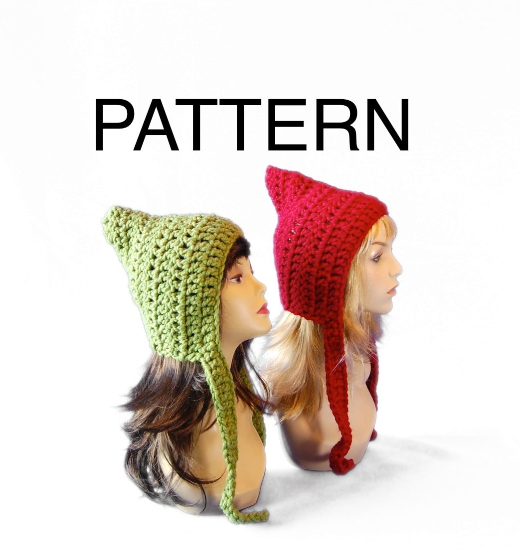 Old Fashioned Crochet Elf Hat Pattern Photo - Sewing Pattern for ...