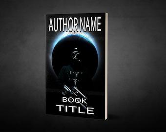 "Premade Ebook Cover ""Siege"" Fiction Literary Dystopian Horror SciFi"