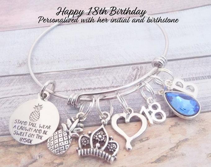 18th Birthday Gift, Gift for Girl's 18th Birthday, Teenage Girl Birthday Bracelet, Gift for Teenage Girl, Gift for Teenager, Gift for Her