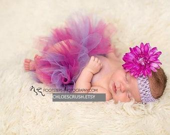 Newborn baby tulle tutu , new baby girl, baby girl photo prop, baby girl newborn pictures, newborn girl, baby shower gift, baby girl gift,