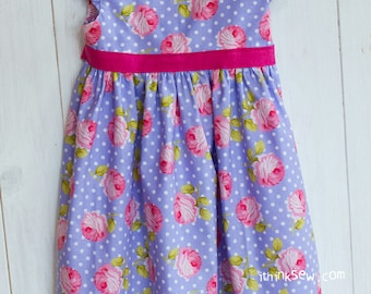 768 Adalyn Dress (3 - 10 Years) PDF Sewing Pattern