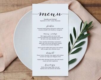 "50 wedding menu 5.5"" or 4.25"", custom wedding menus, menu, wedding details, wedding, stationary, menu cards, invitations cards"
