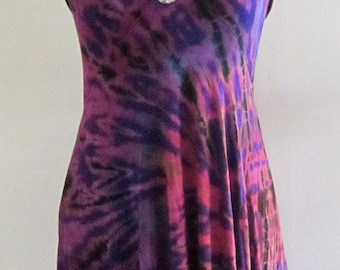 TIE DYED ~ Funky Dress Or Wear As A Skirt!